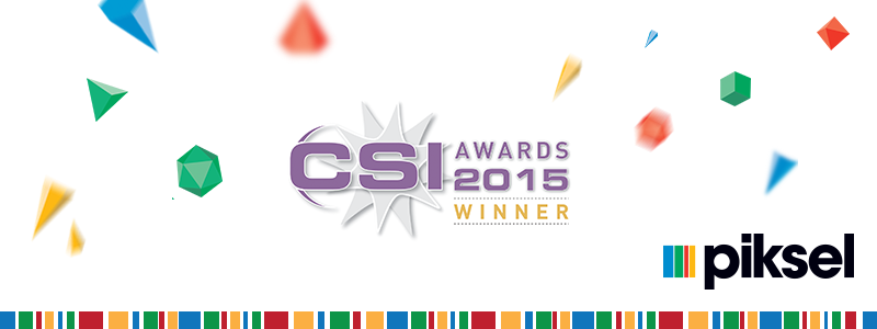 Piksel wins 2015 CSI Award for Channel 4 All 4